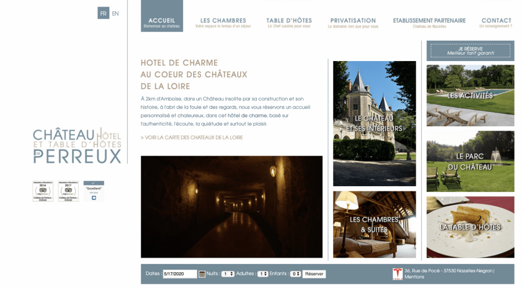 Le Château de Perreux - LovelyHome